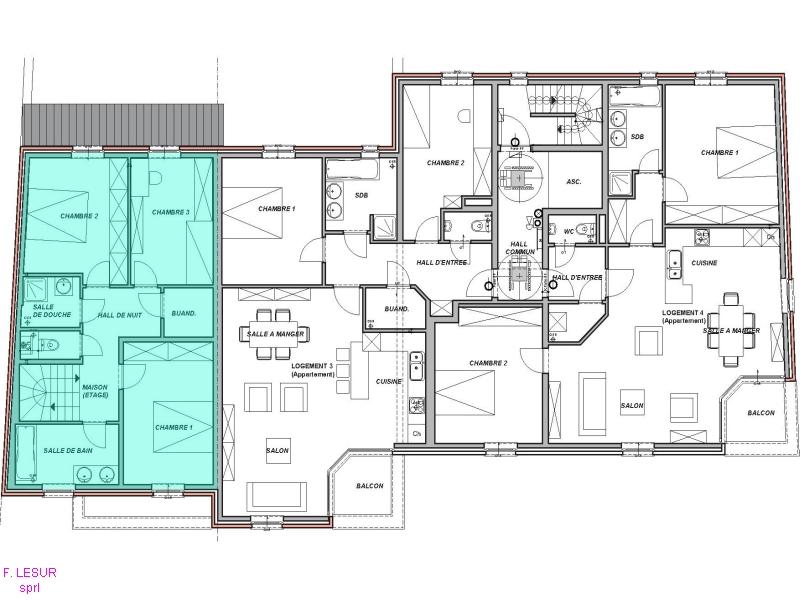 plan de maison sans etage. Black Bedroom Furniture Sets. Home Design Ideas