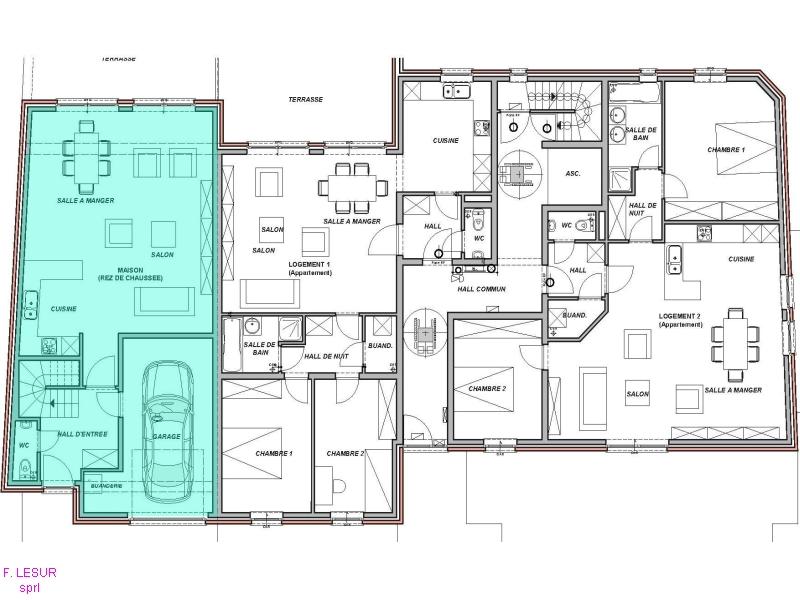 les meilleurs plans de maison vue en plan du0027une